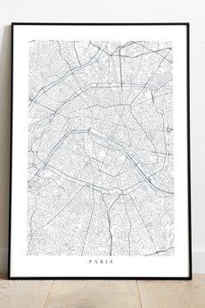 maps by P - Paryż / Francja