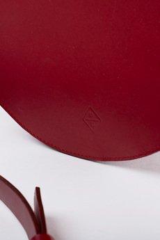 PROUDLY DESIGNED - CIRCLE BAG - Czerwona