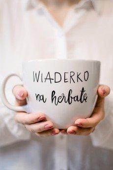 Nadzwyczajnie - Kubek 1 litr - Wiaderko na herbatę
