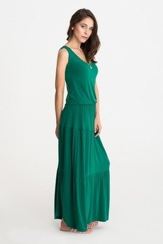 Studio eReR - Sukienka BOHEMA letnia zieleń