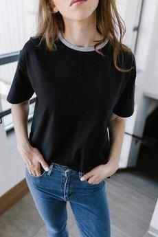 Hello rabbit - T-shirt Classic Black