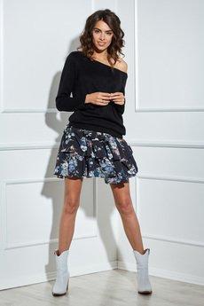 Ooh la la - Spódnica krótka w kwiatowy wzór