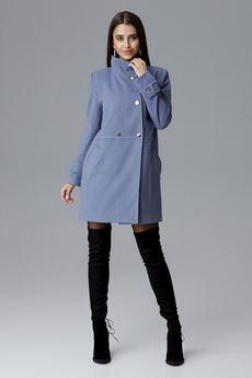 FIGL - Płaszcz M623 Niebieski