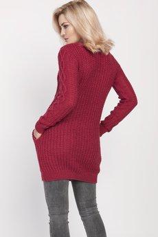 MKM swetry - Dzianinowa sukienka, SWE208 MKM