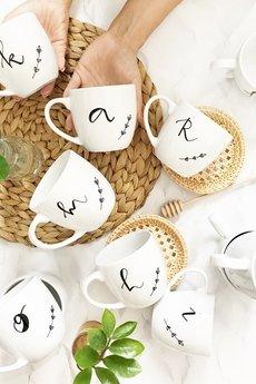 My Mug Company - KUBEK Z DOWOLNĄ LITERĄ  350ML