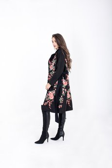 ELEONORA PORTERA - Płaszcz haftowany Saint Moritz