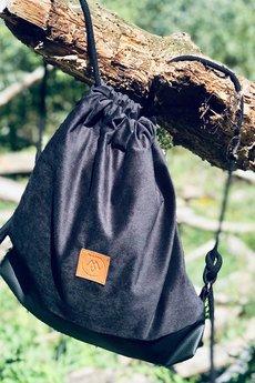Militu - Plecak/torba Mili Funny Bag - czarny