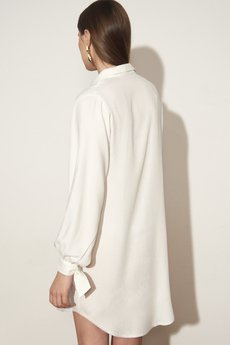 Koszula White Dress Biały   Karolina Naji   Koszule  VjQhn