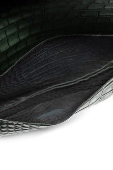 Bolsa - Torebka skórzana, zielona Carole 3
