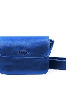 Bolsa - Torebka skórzana, niebieska Yvonne 2