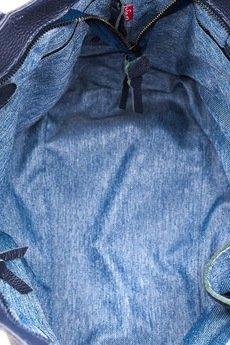 Bolsa - Torebka skórzana, grafit Chiara 2