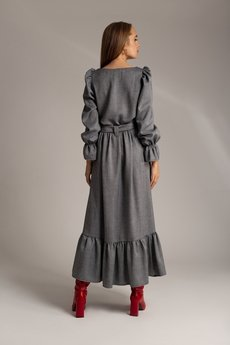 SOVL - Sukienka Jodełka