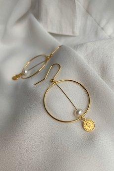 Iluzja Jewellery - Kolczyki Missmatch Hoop I