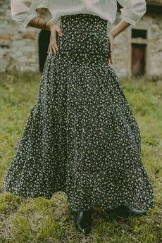 NALU BODYWEAR - Czarna spódnica Rachela