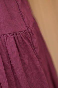 Candy Floss - Spódnica Maxi BurgundyFall