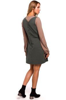 MOE - M447 Sukienka bezrękawnik