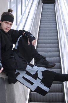 PIKIEL - OVERSIZE koszula czarna