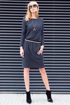 Candy Floss - Sukienka Casual Chic Black