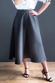 Ququ   Design - Czarna spódnica