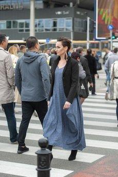Ququ   Design - Melanżowa sukienka