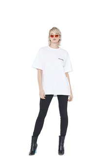Van Hoyden - T-shirt Oversize Casual White