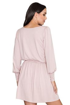 FIGL - Sukienka M576 Różowy