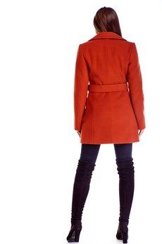 Bird - klasyczny płaszcz z paskiem