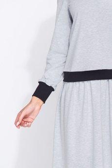 Bird - płaszcz o klasycznym kroju zapinany na guziki