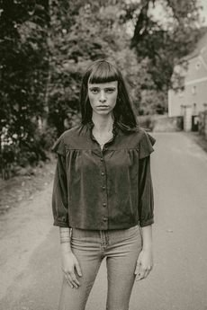 NALU BODYWEAR - Czarna koszula Morgane