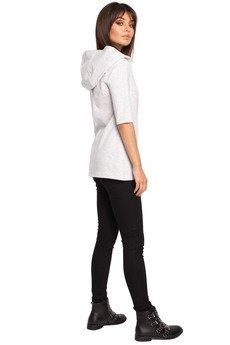 Be - B026 Stylowa bluza z kapturem