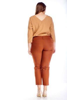 Bird - eleganckie spodnie w kant