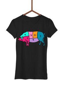 FailFake - Koszulka Świnia Damska