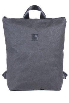 CZARNY - Paper Bagpack /black/