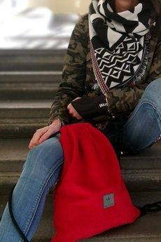 sabi tatka - Plecak worek Red