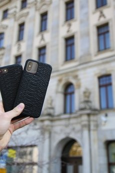 "Pytoncase - iPhone 11 PRO MAX case ""Black Python"""