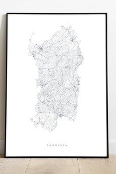 maps by P - Sardynia / Włochy