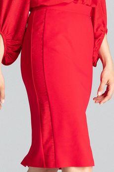 FIGL - Spódnica M688 Czerwony