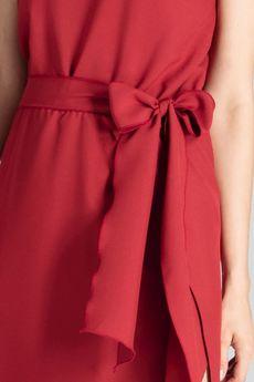 FIGL - Sukienka M674 Bordo