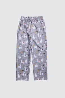 HisOutfit - Spodnie do spania dla PARY ALPAKI piżama