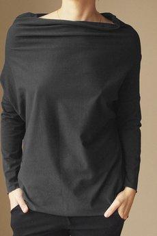 ONE MUG A DAY - Golfodekolt czarny tunika onesize