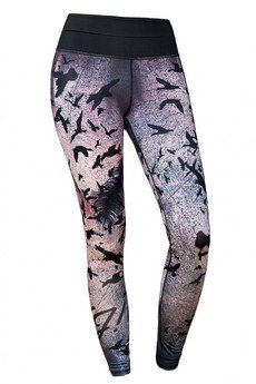 FeelJ! - THERMO WARMED LEGGINGS BIRDS