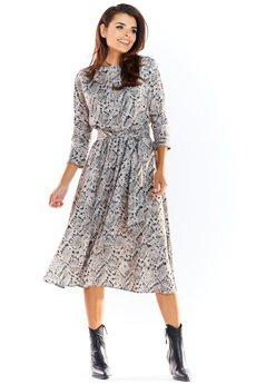 Awama - Sukienka B313