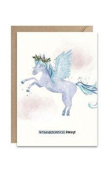 PAPERWORDS - Zimowa kartka z Pegazem