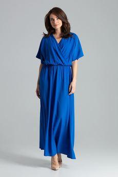 LENITIF - Sukienka L055 Szafir