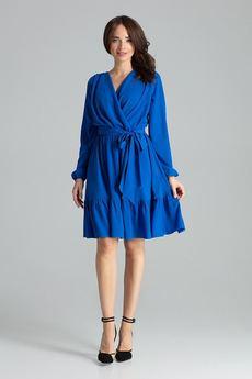 LENITIF - Sukienka L053 Szafir