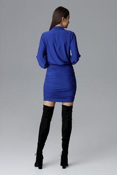 FIGL - Sukienka635 Szafir