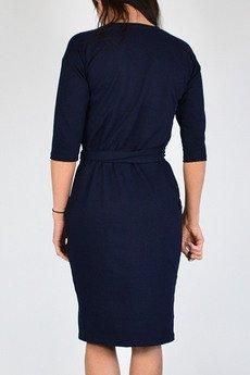 collibri - KAMA sukienka dresowa kopertowa