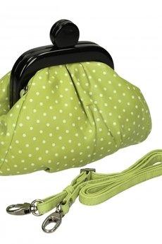 Bolsa - Zielona torebka skórzana, Fragola 1