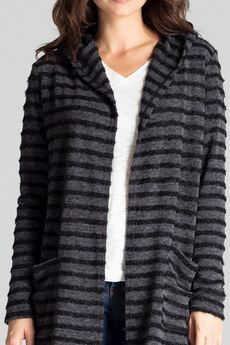 LENITIF - Sweter L070 Czarny