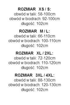 collibri - XS - 4XL _ spódnica maxi _ żuraw